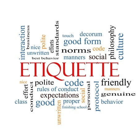 good manners and decorum manners are Etiquette rules tell us what to do and what not to do however, if we correct someone's table habits in public, we embarrass them, so the manners in our heart keep us from doing that to keep the rules and observe the manners in our heart we can set a good example and hope others will notice.