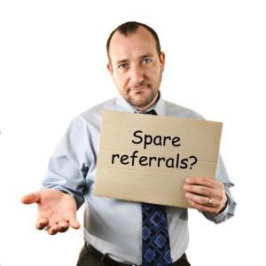 spare referrals