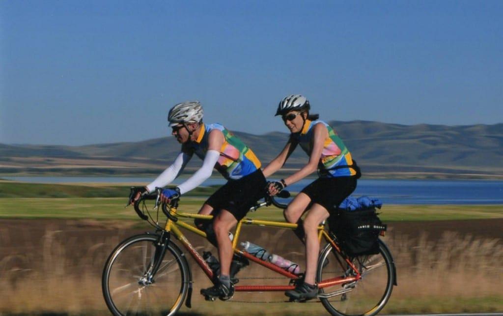 Idaho bike ride
